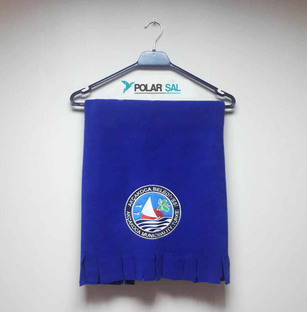 Mavi Polar Şal