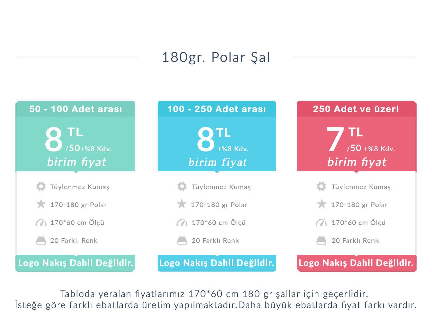 180gr polar şal fiyatları
