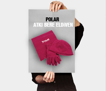 Polar Atkı & Bere & Eldiven